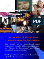 Ley General de Acceso Ppt