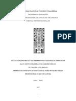 Monografia (La Cultura Mochica y Sus Expresiones Culturales Artísticas)