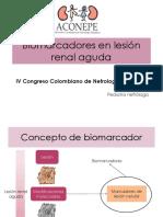 Biomarcadores en Insuficiencia Renal Aguda (1)