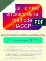 Réussir La Mise en Place de La Méthode HACCP