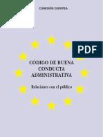 Código de Buena Conducta UE