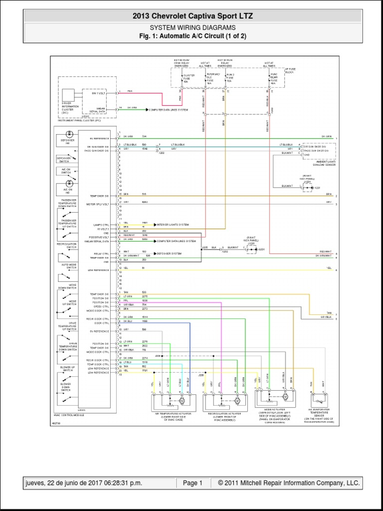 1511642269?v=1 chevrolet captiva 2013 pdf  at bayanpartner.co