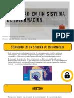 Seguridad en Un Sistema de Información