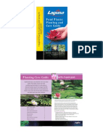 Pond Plants. Planting and Care Guide (Careguides Brochure)