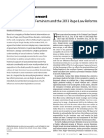 2013 Rape Law Reforms
