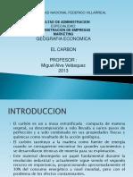 Carbon Recursos Naturales 201 -- Exposicion 1