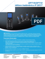 Dp715 710 Datasheet Spanish