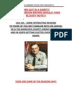 Arizona Sheriff (Food For Thought)