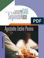 Coleção Exame Da Oab - Segunda Fase - Área Trabalhista - 2009(2)