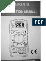 Polimetro Digital (Comprado en Madrid Cotubre 2007)
