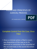 Rules and Principles of Judicial Process