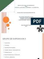 Exposicion Grupo 3