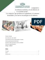"""""""Análisis Comparativo Entre La Noción de Infancia Moderna y La de Infancia en La Sociedad Actual"""""""
