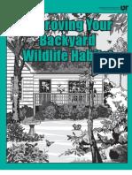 Improving Your Backyard Wildlife Habitat