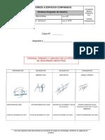GSSL - SIND - PETS101 Ingreso a Espacios Confinados