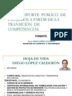 Conferencia Servicio de Trasnporte Publcio Santo Domingo