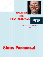 4.1. Macam-macam Sinusitis Dan Terapi (Dr. Andriana)