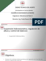 Suspension Hidroneumatica EDGAR ORTEGA - G1