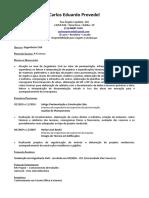 CV Eng Carlos Prevedel