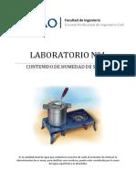 Lab04 Contenido de humedad