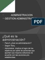 Administracion -Proceso Administrativo