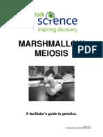 Marshmallow Meiosis Manual