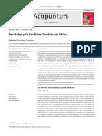 Las 4 Olas y La Medicina Tradicional China