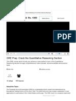 GRE Preparation Online Course _ Ace Quantitative Aptitude of the GRE Exam