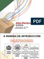 Presentación El Atlas Electoral
