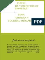 1. Clasificacion de Empresas