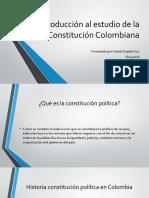 Introducción Al Estudio de La Constitución Colombiana Taller1