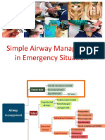 4 - Simple Airway Management in Emergency Situation