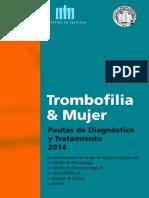 Librillo Bolsillo Trombofilia y Mujer 2014
