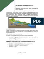 Obras de Captacion de Aguas Superficiales