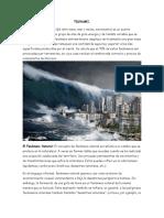 Informe sobre el Tsunami