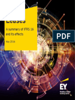 Ey Leases a Summary of Ifrs 16 and Its Effects May 2016