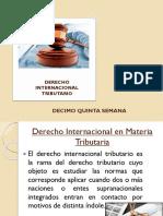 DERECHO TRIBUTARIO I (CÓDIGO TRIBUTARIO) - Semana 15 Derecho-Trbutario-Internacional