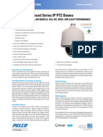 Spectra Enhanced Series IP Dome System Specification Sheet