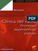 Clinica Del Vacio Massimo Recalcati