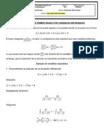 Ecuaciones Por Variables Separables