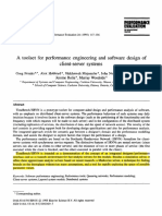 A Toolset for Performance Engineering and Software Design of Client-server Systems