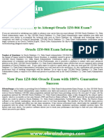1Z0-066 Dumps | Oracle Database Exam
