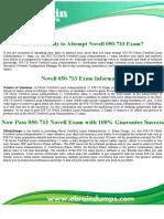 050-733 Novell Novel Certified Linux Administration 11 Exam Dumps