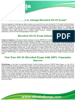 101-01 Riverbed Certified Solutions Associate WRCSP Exam Dumps