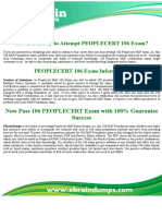 PEOPLECERT 106 MoP Foundation PEOPLECERT 106 exam Exam Dumps