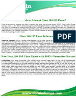 100-105 Cisco Exam Dumps