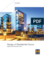 Residential Door Catalogue Active Window Solution.