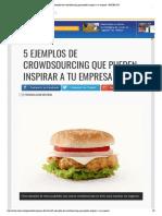 5 Ejemplos de Crowdsourcing Que Pueden Inspirar a Tu Empresa • ENTER