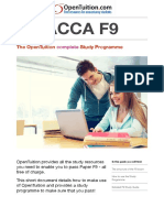 ACCA F9 Study Guide OpenTuition