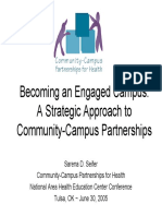Becoming an Engaged Campus, A Strategic Approach to Community-Campus Partnerships_presentation
